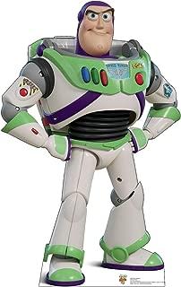 Advanced Graphics Buzz Lightyear Life Size Cardboard Cutout Standup - Disney Pixar Toy Story 4 (2019 Film)