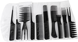 GLAMOUROUI Plastic Hair Comb (Multicolour)