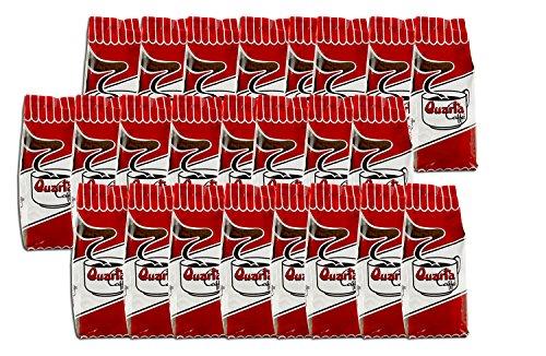 Caffè Quarta La Rossa macinato. N. 24 confezioni da 250 g. Caffè italiano pugliese salentino prodotto e confezionato in Salento. Original Italian coffee made in Salento Apulia.