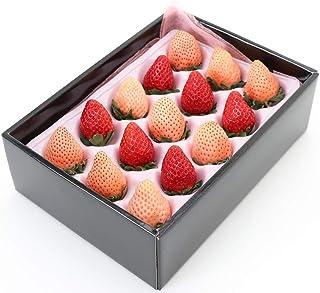 フルーツマイスター厳選  紅白いちごセット 化粧箱入 内祝 お誕生日 プレゼント お歳暮 季節の贈り物にお勧め 母の日のプレゼント 母の日フルーツ 母の日ギフト 母の日プレゼント