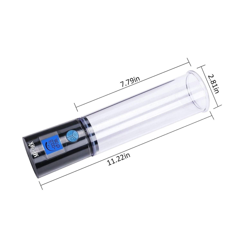 恐怖無条件リスナーRisareyi ペンの拡大器拡大長さ男性用の運動器具自動ペンの真空ポンプスリーブ
