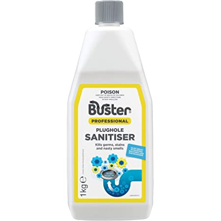 Buster Plughole Sanitiser, Kills germs and nasty smells 1kg