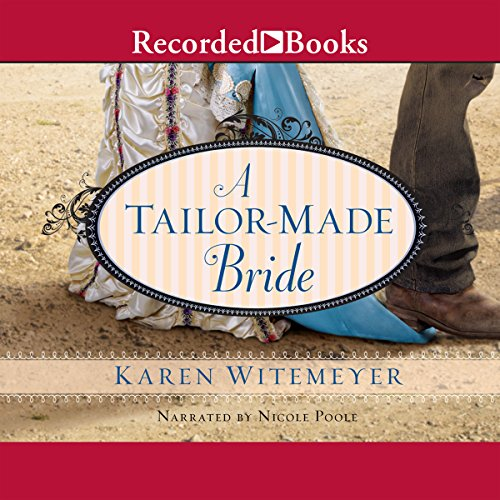 A Tailor-Made Bride audiobook cover art