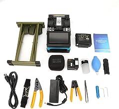 Splicer de fusão de fibra, emenda, emenda de fusão de fibra óptica automática, conjunto de acessórios de ferramentas com t...