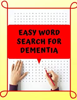 Easy Word Search For Dementia: Peak Brain Training, Extreme Word Search, wordsearch hidden message word find books.