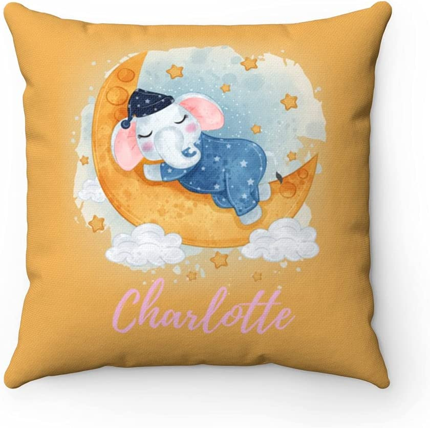 Personalized New mail order Popularity Babys Room Cushion Cover Name Kids Kid