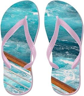 Lplpol Diamond Diva Skulls Flip Flops Flip Flops for Kids and Adult Unisex Beach Sandals Pool Shoes Party Slippers