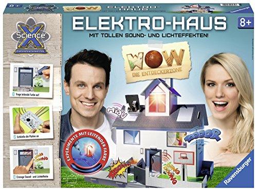 Ravensburger 18939 - ScienceX WOW Elektrohaus