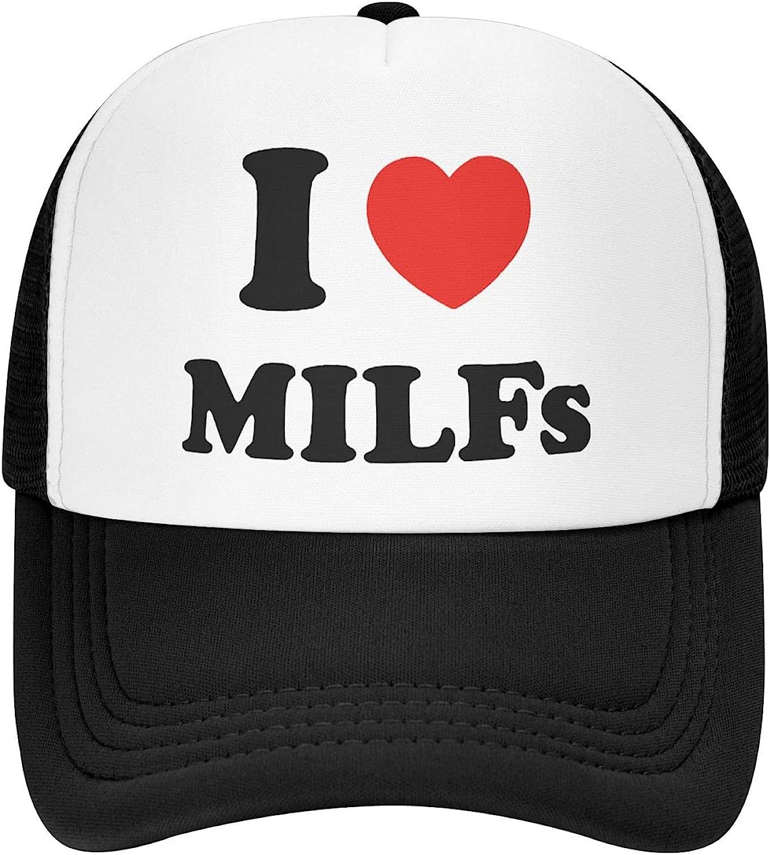 I Love Milfs Hat for Men Women