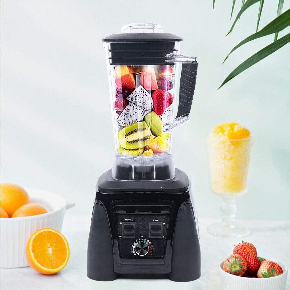 Commercial Blender Mixer Black Las Vegas Mall Electric Fruit 110V Juicer List price Heavy