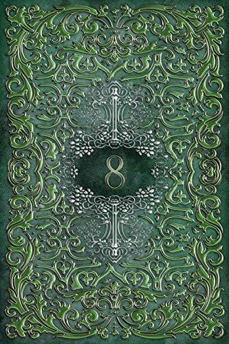 Monogram 8 Blank Book: Notebook Journal Diary Art Sketch (Rustic Three 150 Blank, Band 34)