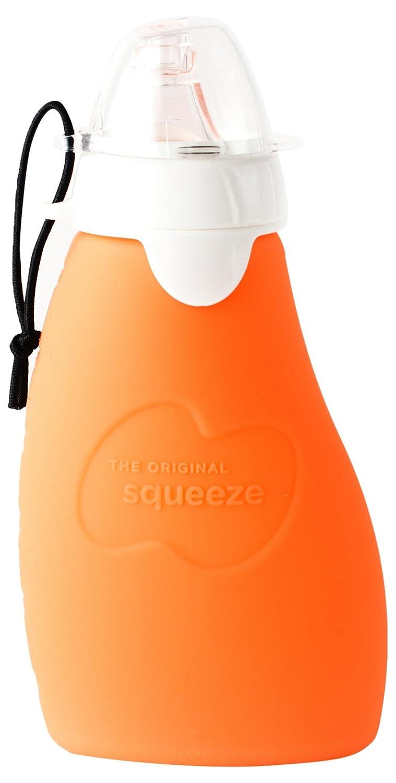 Swiftswan Babynahrung Dispensing L/öffel Silikon Squeeze Reis Getreide M/üsli Baby Bottle Feeder L/öffel