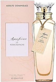 Adolfo Dominguez Agua Fresca de Rosas Blancas Agua de Tocador Vaporizador - 120 ml