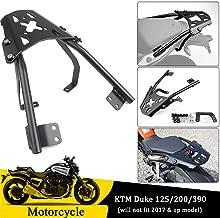 Psler Top Luggage Rack Rear Carrier Luggage Rack Fender Support for KTM 125 Duke 2011-2016,KTM 390 Duke 2013-2016,KTM 200 Duke 2011-2019