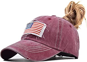 Sajfirlug American Flag Mardi Gras Fashion Adjustable Cowboy Cap Baseball Cap for Women and Men