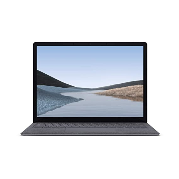 """Microsoft Surface Laptop 3 Intel Core™ i5 10th Gen 13.5"""" (34.29 cms) Touchscreen Laptop (8GB/128GB SSD/Windows 10 Home/Integrated Graphics/Platinum/1.265kg), VGY-00021"""