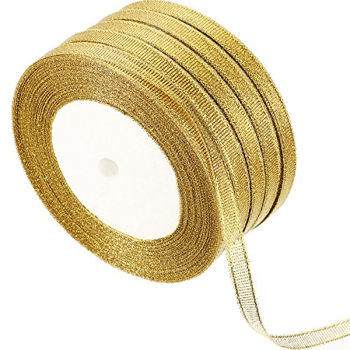 Metallic Ribbons for Crafters