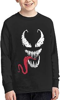 Venom スパイダーマンのヴェノム 長袖 スウェットシャツ スポーツウェア 11-15歳 子供服 普段着 部屋着 カジュアル 春秋 おしゃれ tシャツ 男女兼用