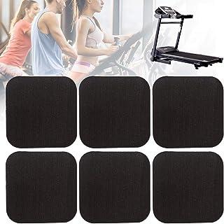 Erthree Treadmill Shock Absorbing Mat,Home Anti-Vibrasion Sound Insulation Thickened Floor Pad for Treadmill