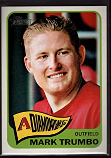 Mark Trumbo 2014 Topps Heritage #442 Mint SP Baseball Diamondbacks