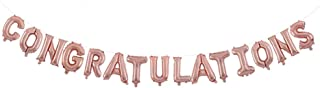 Congratulations Balloon Banner 15 Alphabet Characters Foil Letters 16