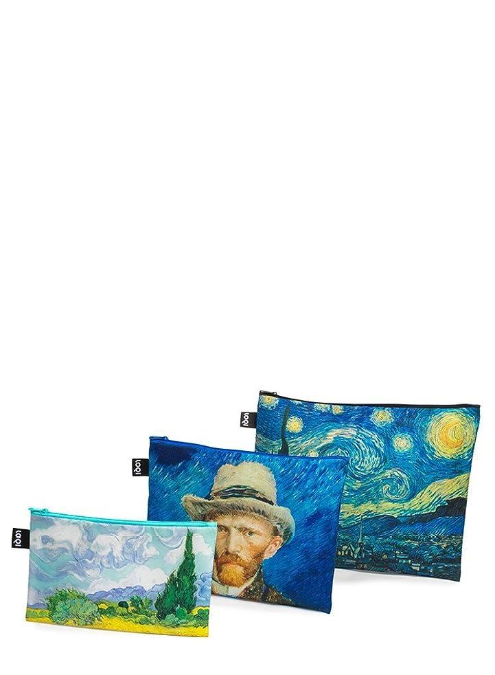 パーツチャペルビデオLOQI(ローキー) ジップポケット MUSEUM Vincent Van Gogh (ZP.MU.VG)