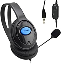 Matefield Wired Gaming Headsets Headphones with Mic for PS4 Sony Playstation 4 /PC