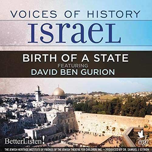 Voices of History Israel: Birth of a State Titelbild