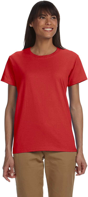 Gildan Womens 6.1 oz. Ultra Cotton TShirt (G200L) RED 2XL12PK