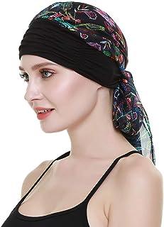 La quimioterapia para cancer turbante mujeres Cómodo tejido de bambu Headwear