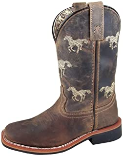 Smoky Mountain Boys' Buffalo Western Boot Square Toe