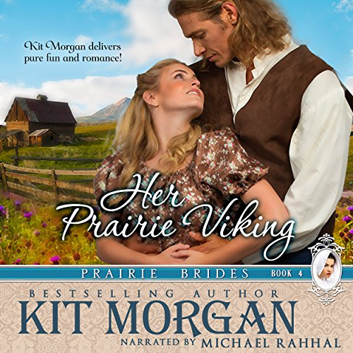 Her Prairie Viking audiobook cover art