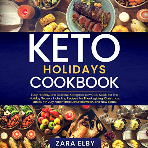 Keto Holidays Cookbook  By  cover art