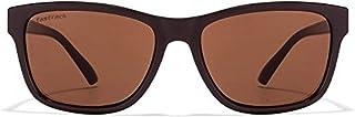 Fastrack UV Protected Square Men's Sunglasses - (P357BR3|41|Brown)