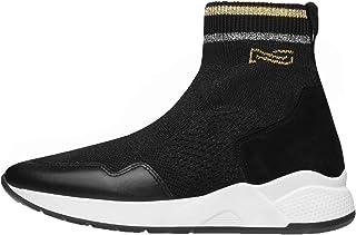 Nero Giardini A909033D Sneakers Donna in Pelle E Camoscio