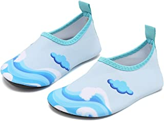 Fantiny Baby Water Shoes Infant Swim Shoes Skin Aqua Socks for Beach Swim Pool