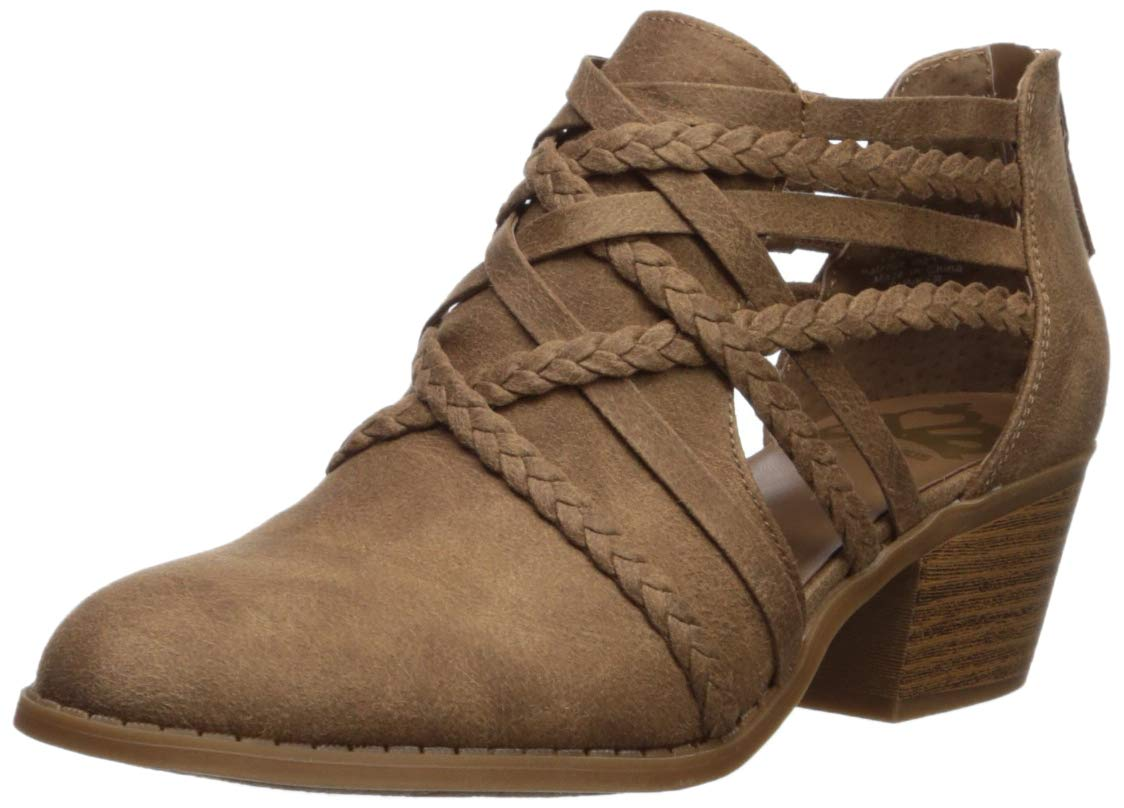Fergalicious Womens Bunker Ankle Boot