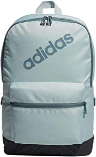 Adidas Backpack for Men - Polyester, Ash Green/Carbon/Raw Green (DM6107)