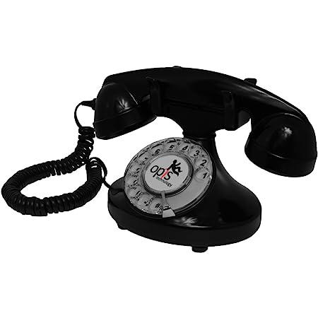 Opis Funkyfon Cable Retro Telefon Mit Wählscheibe In Elektronik