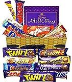 Canasta de regalo de chocolate Caja de selección de amantes del chocolate