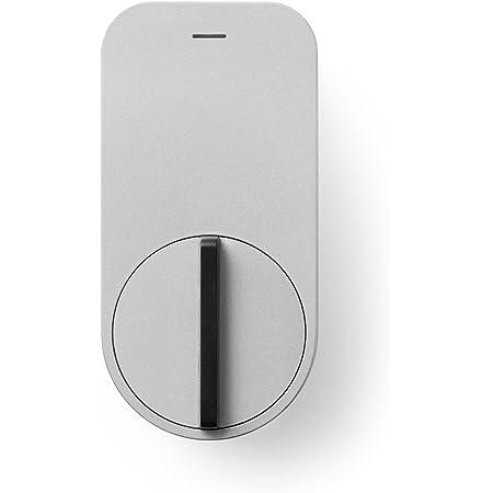QrioQrio Smart Lock (キュリオスマートロック) スマートフォンで自宅のドアをキーレス化 Q-SL1 シルバー 長さ115.5mm 幅57mm 高さ84.5mm