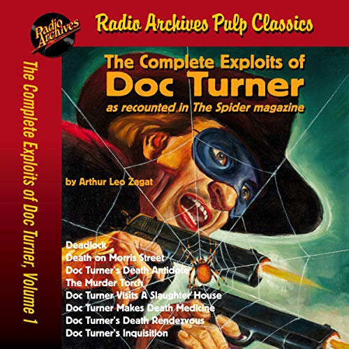 Couverture de The Complete Exploits of Doc Turner ,Volume 1