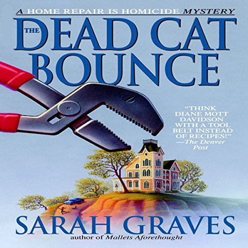 The Dead Cat Bounce audiobook cover art