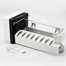 Compatible Refrigerator Icemaker for Amana IC6, KitchenAid KBFS25EVMS00, Maytag MTB2456DEQ, Amana ARB2214CB Fridge