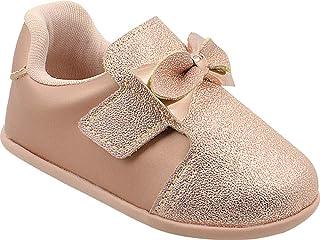 Pé com Pé BR Sapato de Bebê Nenem, Feminino