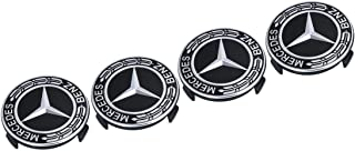 4pcs 75mm Car Wheel Stickers Wheel Center Covers Wheel Hub Caps Rim Covers Emblem Car Styling Accessories For Mercedes Ben...