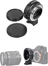 Commlite Auto Focus EF-NEX EF-EMOUNT FX Lens Mount Adapter for Canon EF EF-S Lens to Sony E Mount NEX 3/3N/5N/5R/7/A7 A7R Full Frame