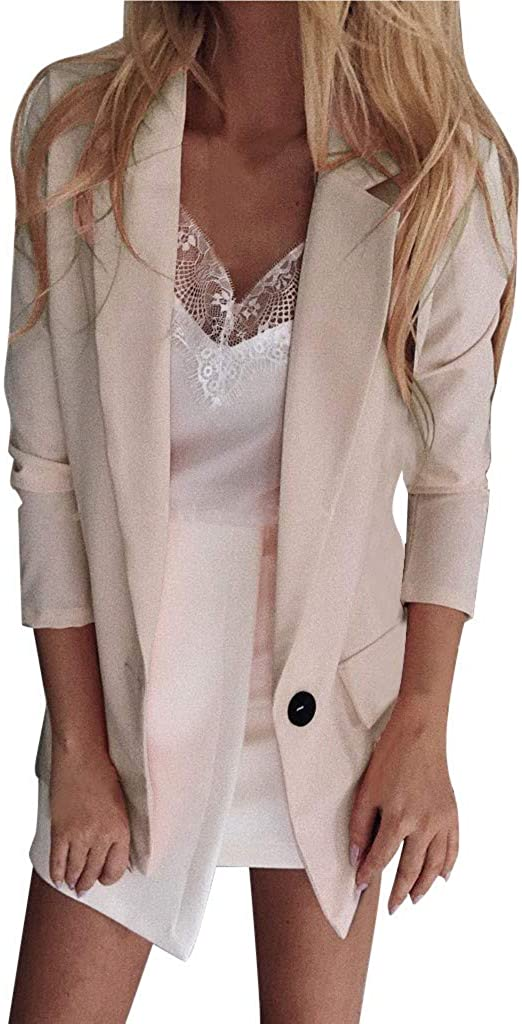 Womens Jacket Casual Blazer Ruched Credence Long Fit Front Of Open Sale special price Sleeve