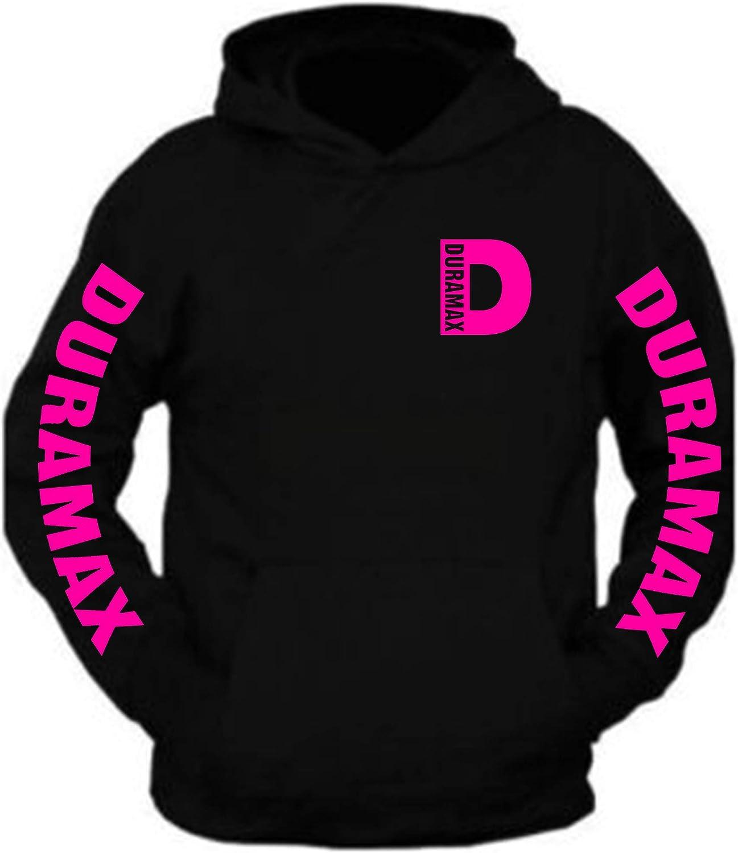 Duramax Color Spring new work one after another Pocket Design Sweatshirt Hooded Black Under blast sales Hoodie