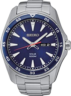 Men's Analogue Quartz Watch with Stainless Steel Bracelet – SNE391P1